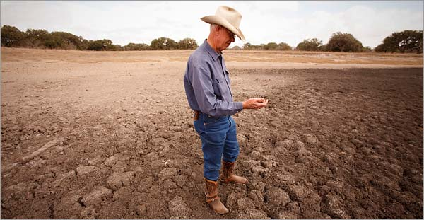 Texas farmer who lost his livelihood