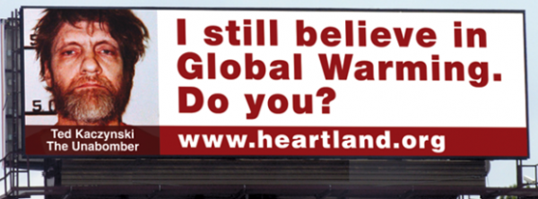 Heartland Institute Billboard - Not Science At All